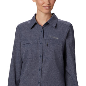 Columbia Irico Chemise manches longues Femme, nocturnal